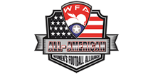 2018 All American - Women's Football Alliance Logo