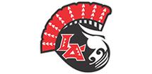 Los Angeles Warriors Football Logo