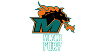 Miami Fury Football  Logo
