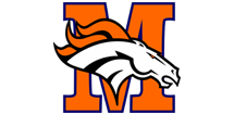 Modesto Broncos Youth Football Logo