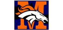 Modesto Broncos Youth Football Logo