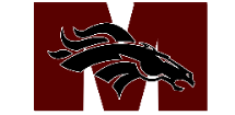 Mustangs Youth Football and Cheer  Logo