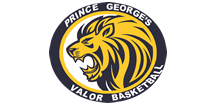Prince George's Valor Basketball Logo