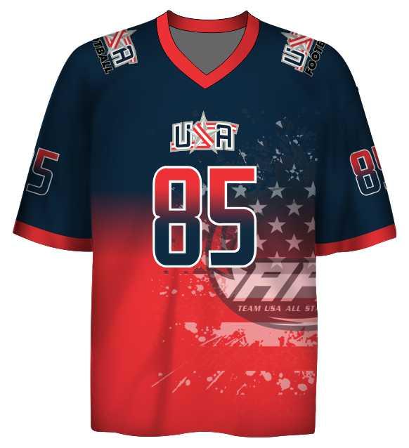 Fan Jersey A - American Football Events Team USA All-Stars - Shop