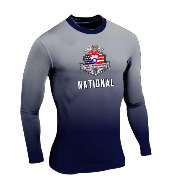 Long Sleeves Compression Shirt C - 2018 All American - Women s Football  Alliance - Shop 9e174e3582