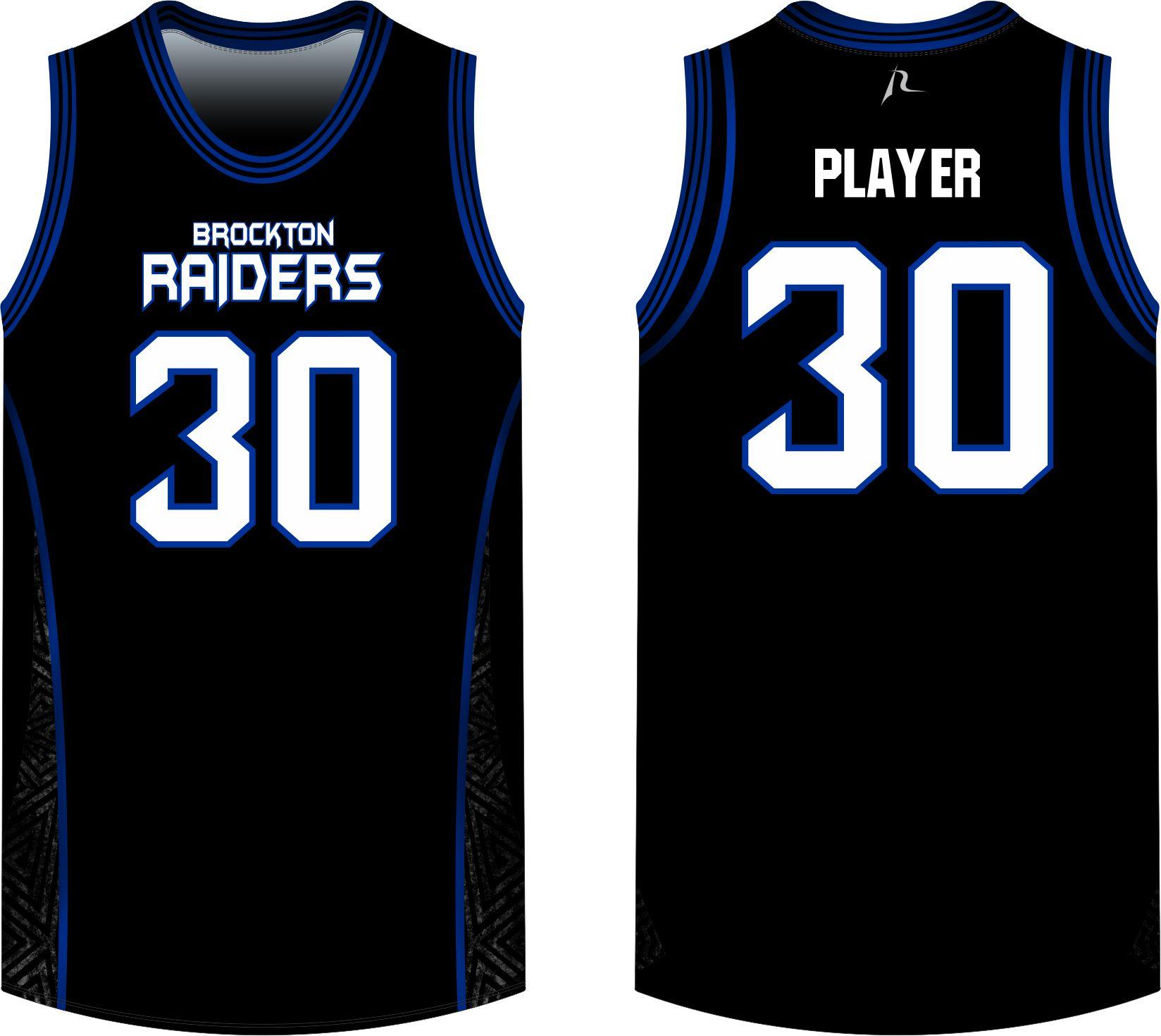 Jersey Basketball Shop - Custom Raiders Brockton