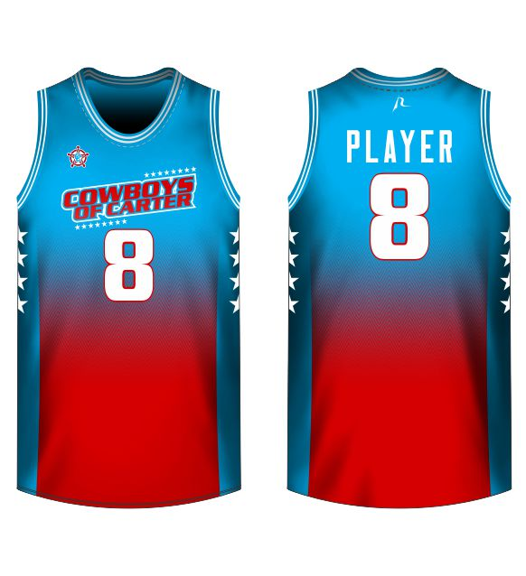 new style 95ebf c307e Basketball Jersey Knitted - Cowboys of Carter Bears - Shop