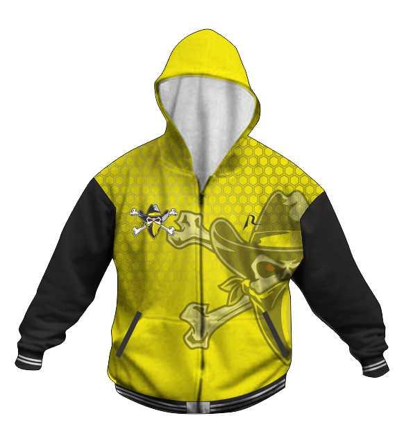 Custom Hoodie Jacket C - Inspirada Outlaws Football - Shop
