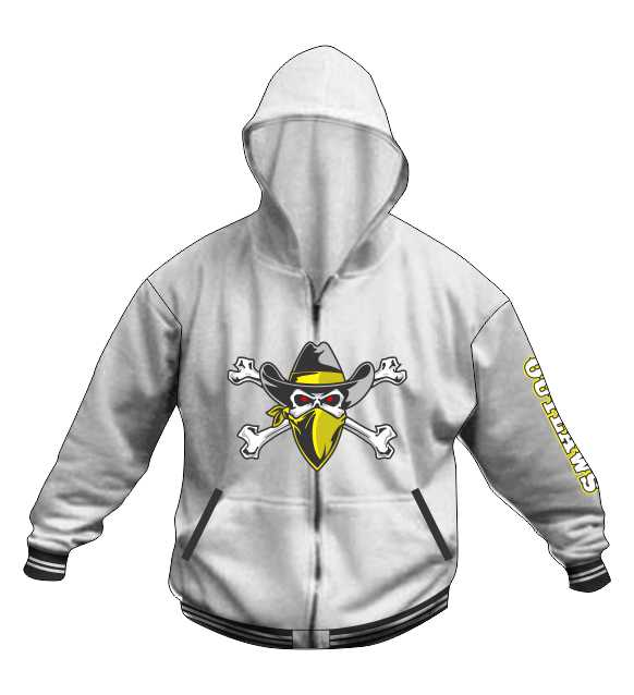 Hoodie Jacket A - Inspirada Outlaws Football - Shop
