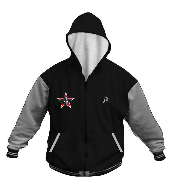 Custom Hoodie Jacket A - Owings Outlaws Youth Club - Shop
