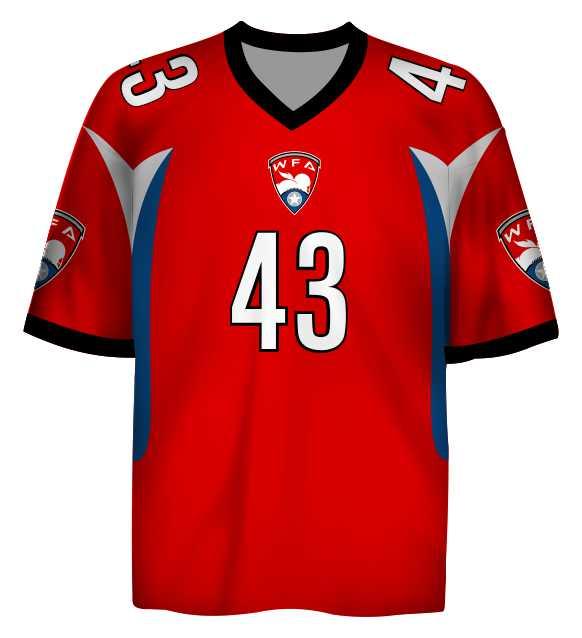 Fan Jersey A - WFA - Women's Football Alliance - Shop