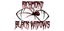 Richmond Black Widows Logo