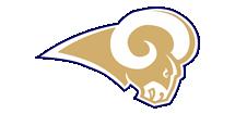 TBCA RAMS Football Logo