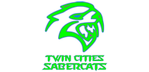 Twin Cities Sabercats Logo
