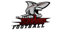 Tri County Sharks Football Logo