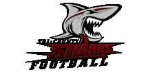 Tri County Sharks Football Logo