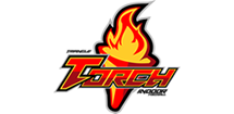 Triangle Torch Professional Indoor Football Logo